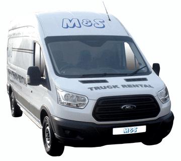 Contract van hire in Swindon