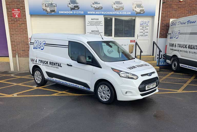 Hire a Ford Transit Connect in Swindon