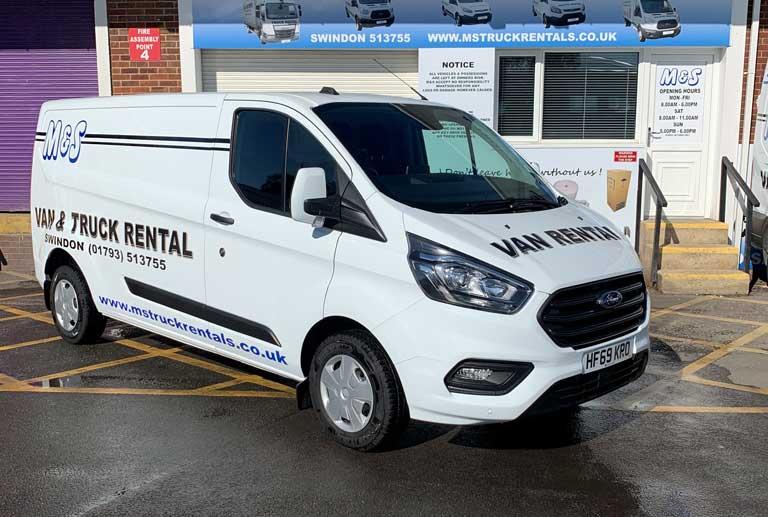 Hire a Transit van in Swindon