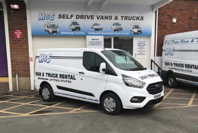 Hire a Transit Connect van in Swindon